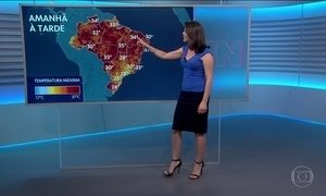 Confira a previsão do tempo para esta terça (16) em todas as regiões do país