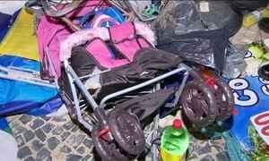 Atropelamento em massa mata um bebê e deixa 17 feridos em Copacabana