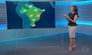 Confira a previsão do tempo para o sábado (20) em todo o país