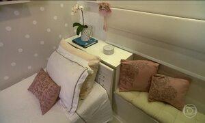 Cabeceiras para camas deixam o ambiente prático e mais estiloso