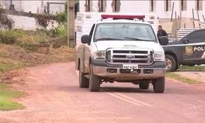 Presos são executados na saída da cadeia, em Rio Branco