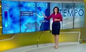 Rio Doce transborda entre Minas Gerais e Espírito Santo