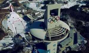 Olimpíada de Inverno tem pista de competição rara em todo mundo