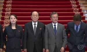 Irmã do ditador da Coreia do Norte convida presidente da Coreia do Sul para ir à Pyongyang
