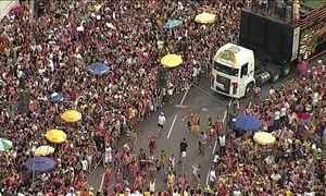 Carnaval de rua de BH espera receber mais de três milhões de foliões