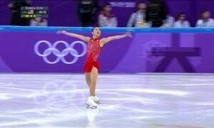 Na Olimpíada de inverno, patinadora americana Mirai Nagasu realiza movimento histórico
