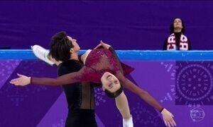 Americana consegue um movimento raro na patinação no gelo nos Jogos de Inverno