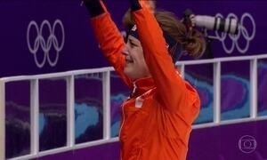 Holandesa se torna a mais premiada patinadora de todos os tempos