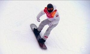 Atleta norte-americano leva terceiro ouro no snowboard