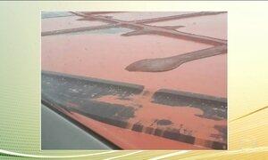 O Ministério Público investiga denúncias sobre um vazamento de rejeitos de minério no Pará