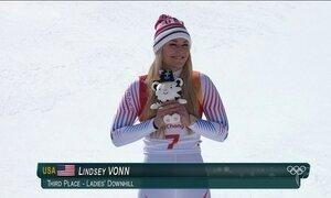 Mulheres se destacam na Olimpíada de Inverno