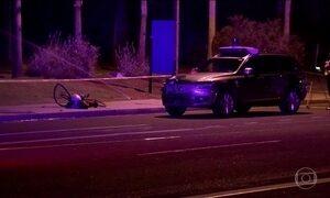 Mulher morre atropelada por Uber autônomo nos EUA