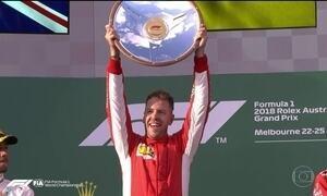 Vettel supera Hamilton e vence a primeira no GP da Austrália