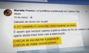Cresce a ação de milícias que matam e apavoram moradores do Rio de Janeiro