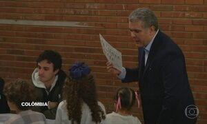Colômbia tem primeira eleição presencial após acordo de paz