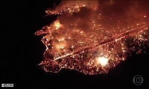 Aumento de atividade do vulcão Kilauea obriga nova retirada de moradores