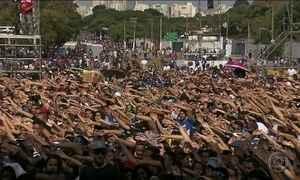 26ª Marcha para Jesus reúne multidão de fiéis, em SP