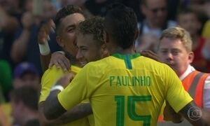 Brasil vence a Croácia em amistoso de preparação para a Copa