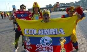 Colômbia vence Polônia por 3 a 0 e agora precisa de vitória contra o Senegal