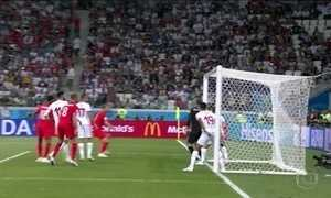 Inglaterra consegue se classificar para uma semifinal de Copa após 28 anos