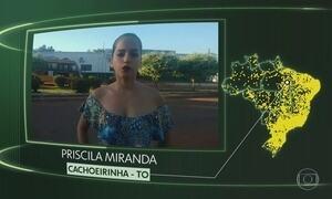 Cachoeirinha, Cajazeiras do Piauí, Rebouças, Palmeiras, Abadiânia, Sen Modestino Gonçalves