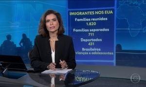 Termina prazo dado pela Justiça para que o governo americano reúna imigrantes