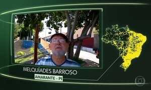 Vídeos de Amarante (PI), Colméia (TO), Apicum-Açu (MA), Cuparaque (MG) e Catanduva (SP)