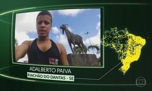Riachão do Dantas, S. Clara D`Oeste, Campo Erê, Aramari, Jardim de Angicos e Barra Funda
