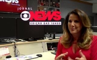 Em breve, Christiane Pelajo apresenta o Jornal GloboNews Edição das 16h