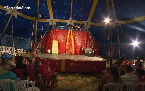 Vida no circo é exemplo de dedicação e arte