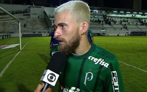 """Lucas Lima analisa empate contra a Ponte Preta: """"Tivemos dificuldades"""" (reprodução/vídeo)"""