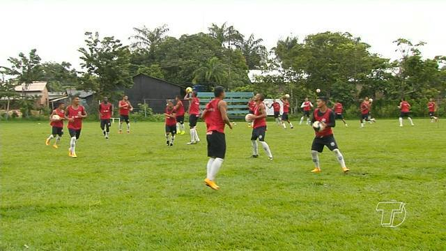 São Francisco segue preparação para enfrentar o Paysandu no sábado