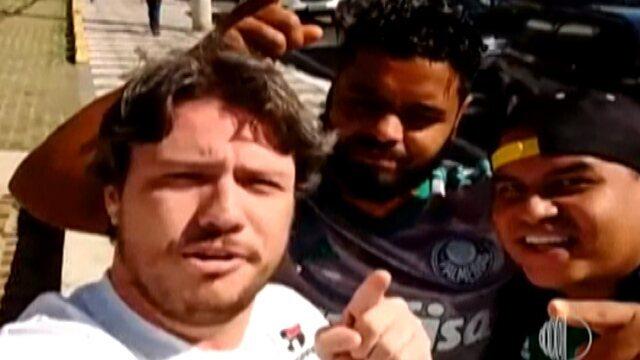 Clássico entre São Paulo e Palmeiras é  assunto na resenha dos Garotinhos