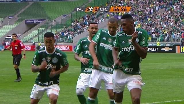 BLOG: Stylish celebration! Mina dá o toque final à bela jogada do Palmeiras; ouça em inglês