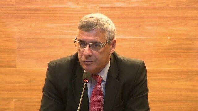 Coronel Marinho não vê possibilidade de profissionalização da arbitragem a médio prazo