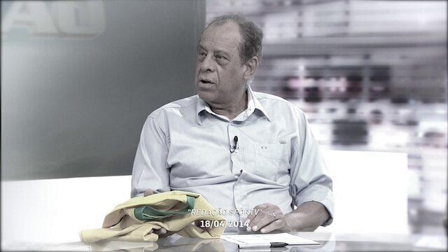 """""""Redação SporTV"""" lembra primeira participação  de Carlos Alberto Torres no programa"""