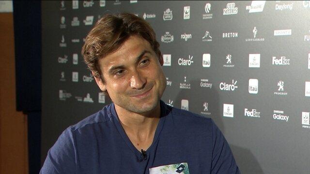 """Presente em todas as edições do Rio Open,  David Ferrer quer """"dar tempo"""" na fase ruim"""