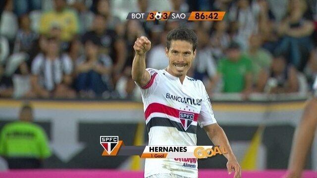 BLOG: The Prophet scores! Hernanes reestreia com gol e ajuda São Paulo a sair da degola