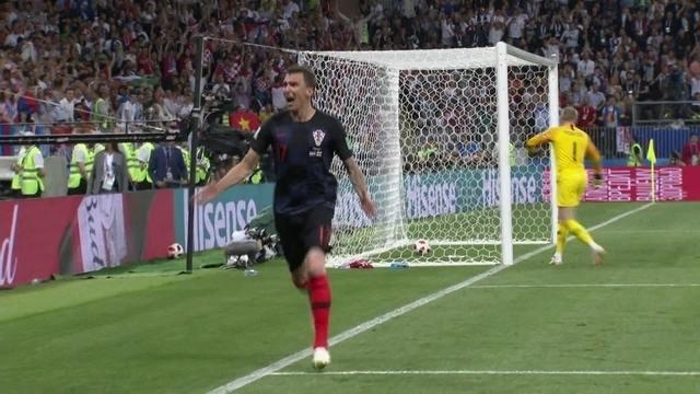 Gol da Croácia! Mandzukic recebe na área e vira partida aos 2 do 2º tempo da prorrogação