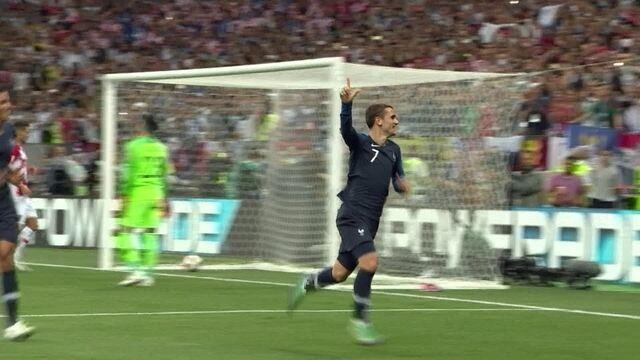 Os gols de França 4 x 2 Croácia pela decisão da Copa do Mundo de 2018