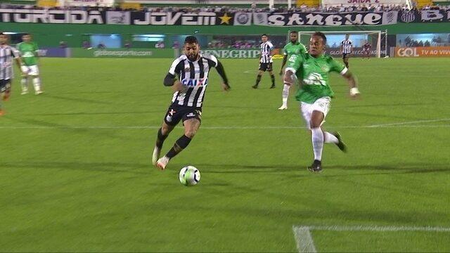 Melhores momentos de Chapecoense 0 x 0 Santos pela 14ª rodada do Brasileirão