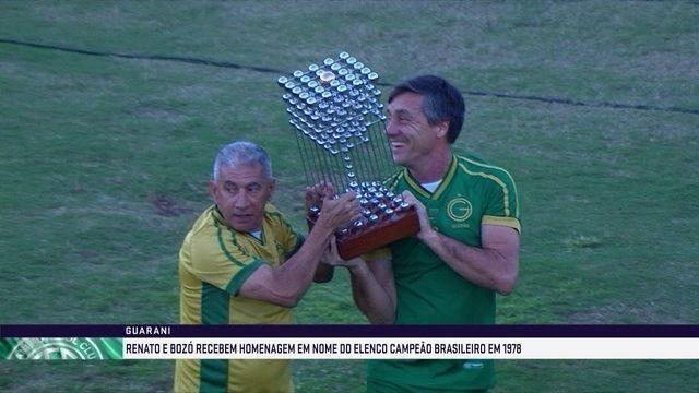 Guarani comemora 40 anos da conquista do título brasileiro de 1978