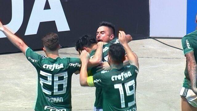 Os gols de Palmeiras 3 x 1 Cruzeiro pela 27ª rodada do Brasileirão