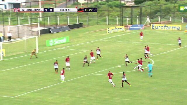 dc6ac88882b5d Internacional 4 x 0 Trem - Copa São Paulo de Futebol Júnior 2019 ...
