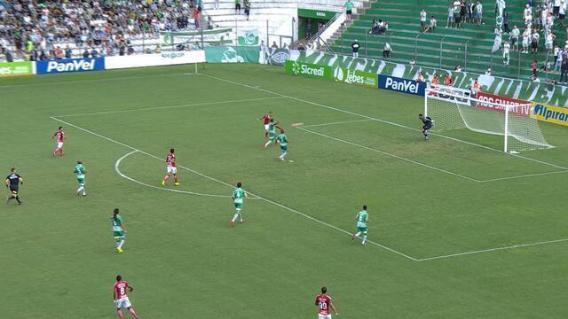 GOL! Nico López bate de primeira e marca golaço para o Inter, aos 18 do 1'T