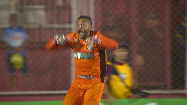 Os pênaltis de Foz do Iguaçu 0 (2) x (4) 0 Ceará pela Copa do Brasil