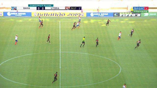 Bahia 0 X 0 Vitória Campeonato Baiano 2019 Rodada 8