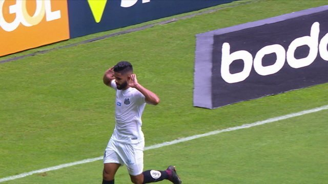 Os gols de Grêmio 1 x 2 Santos pela 1ª rodada do Brasileirão 2019