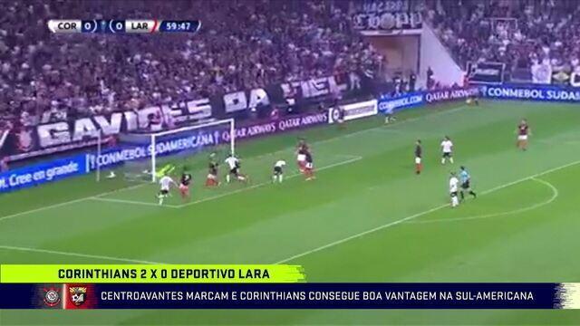 Corinthians vence Deportivo Lara por 2 a 0 pela Sul-Americana