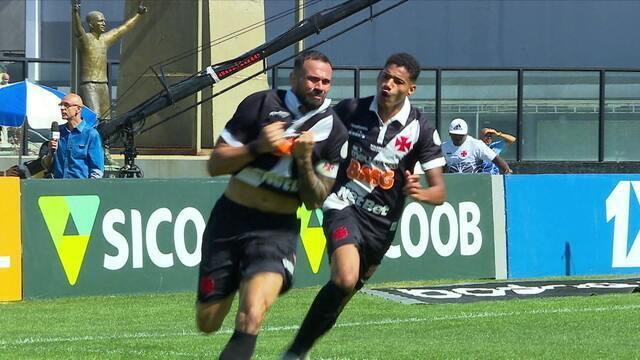 Os gols de Vasco 2 x 1 Fluminense pela 11ª rodada do Campeonato Brasileiro